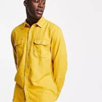 Levi's Jackson Cotton Hemp Worker Overshirt Yellow