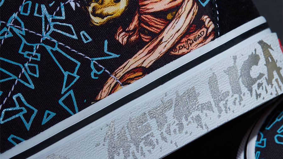 Metallica x Vans Sk8-Hi Sad But True Closeup