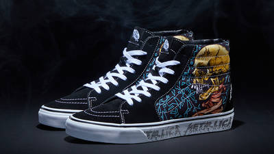 Metallica x Vans Sk8-Hi Sad But True Front