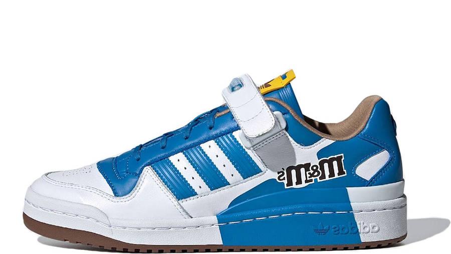 M&M x adidas Forum Low Blue GZ1935