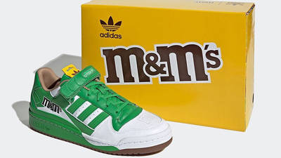 M&M x adidas Forum Low Green GY6314 front
