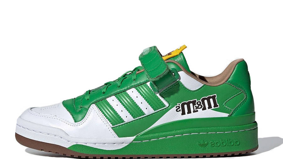 M&M x adidas Forum Low Green GY6314
