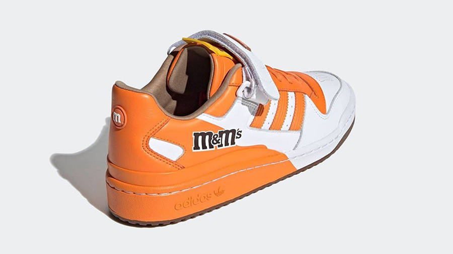 M&M x adidas Forum Low Orange GY6315 back