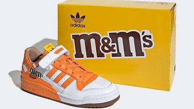 M&M x adidas Forum Low Orange GY6315 front