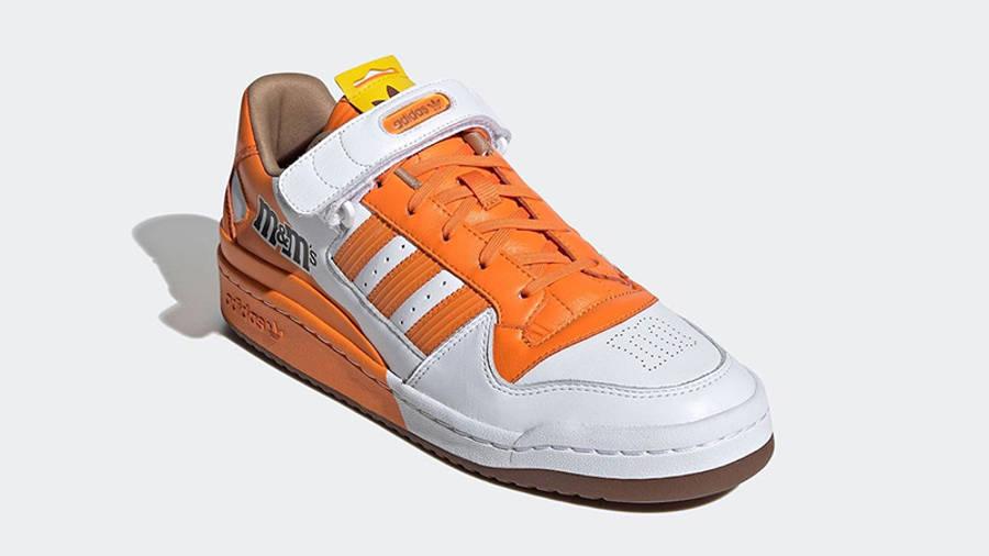 M&M x adidas Forum Low Orange GY6315 side