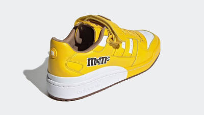 M&M x adidas Forum Low Yellow GY6317 back