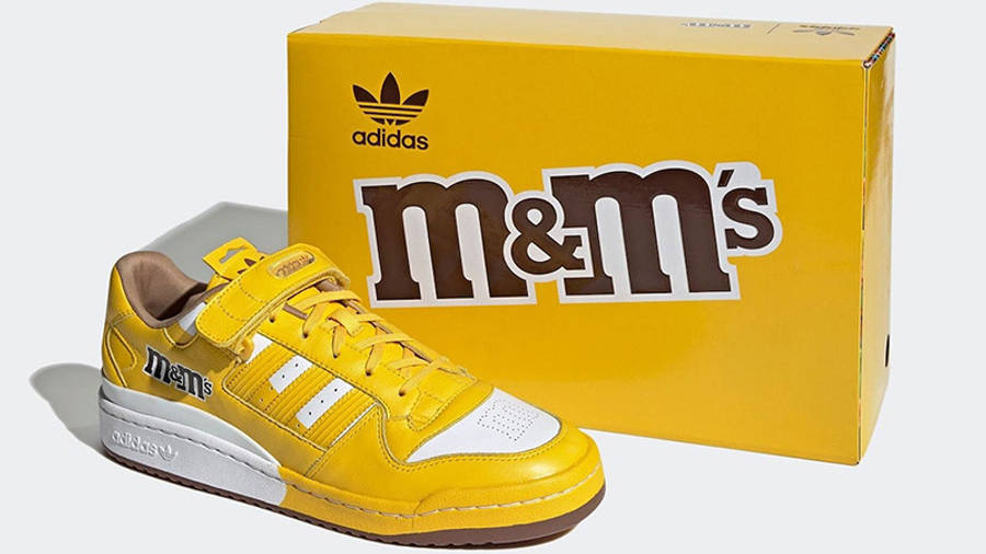 M&M x adidas Forum Low Yellow GY6317 front