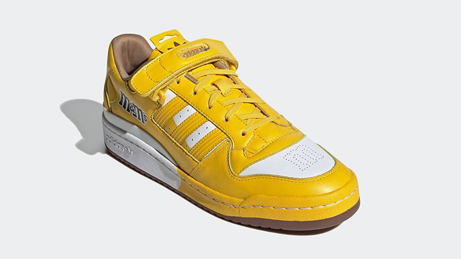 M&M x adidas Forum Low Yellow GY6317 side
