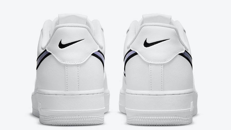 Nike Air Force 1 Low Iridescent Swoosh White DN4925-100 back