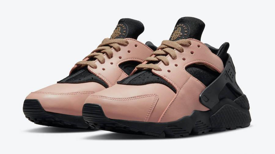 Nike Air Huarache Toadstool Black Front