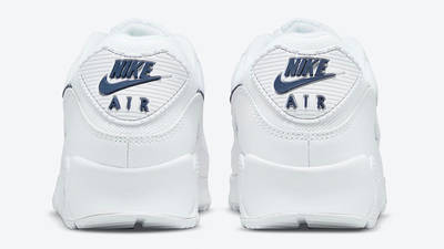 Nike Air Max 90 Perforated Toe White DH1316-101 back