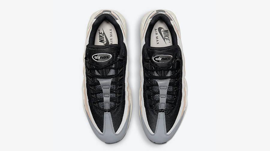 Nike Air Max 95 Black Grey Beige DC9412-002 middle