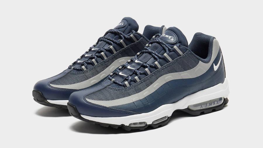 Nike Air Max 95 Ultra Reflective Blue Grey Front