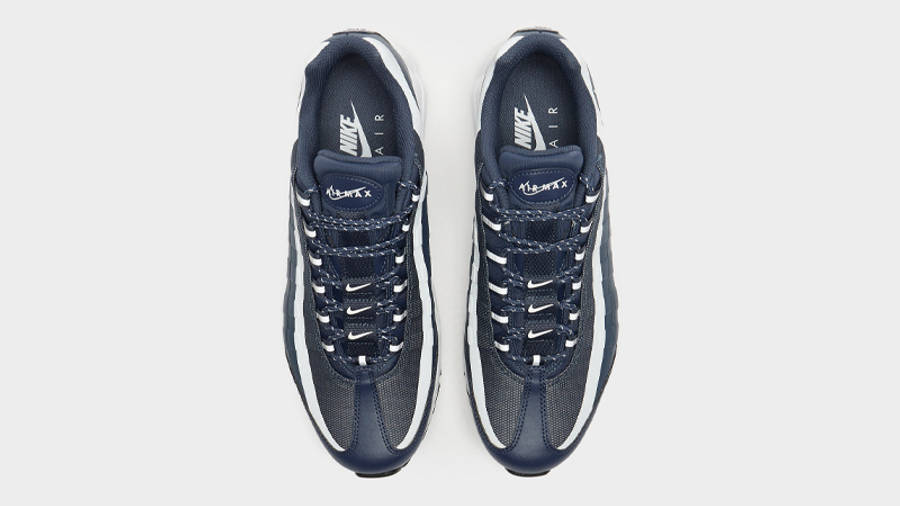 Nike Air Max 95 Ultra Reflective Blue Grey Middle