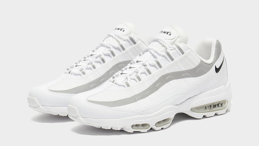 Nike Air Max 95 Ultra White Black Front