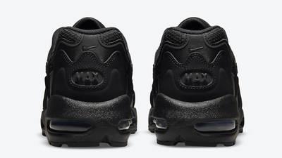 Nike Air Max 96 II Triple Black Back