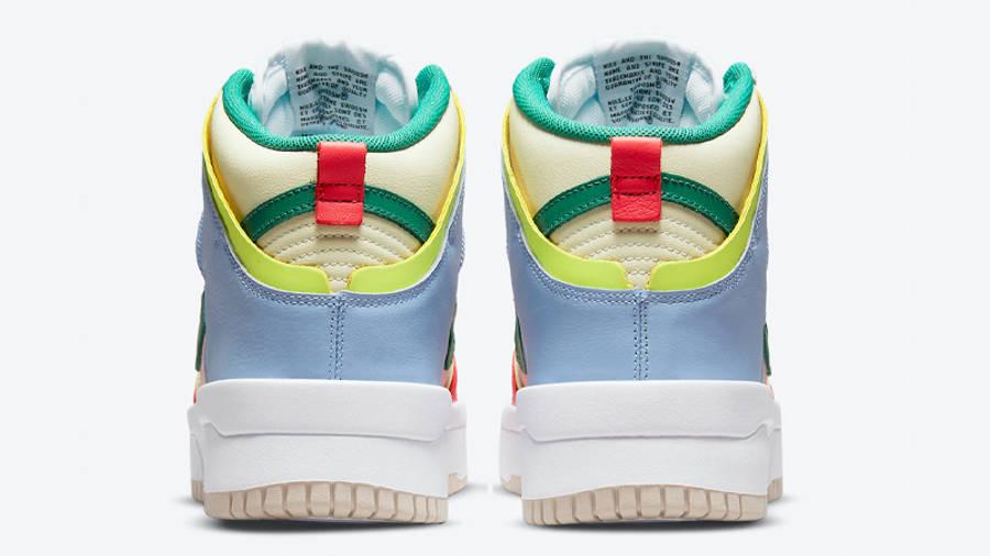 Nike Dunk High Rebel Cashmere Back