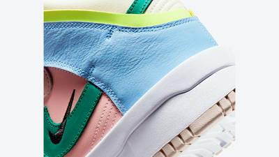 Nike Dunk High Rebel Cashmere Closeup
