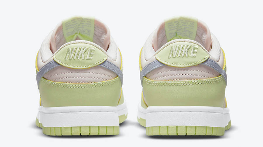 Nike Dunk Low Lime Ice DD1503-600 back