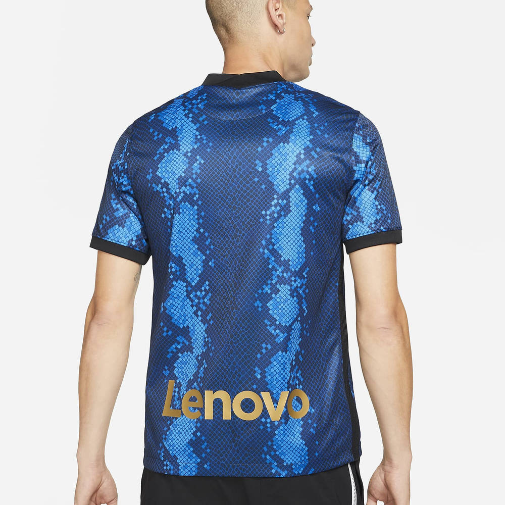 Nike Inter Milan 2021-22 Stadium Home Dri-FIT Football Shirt CV7900-414 Back