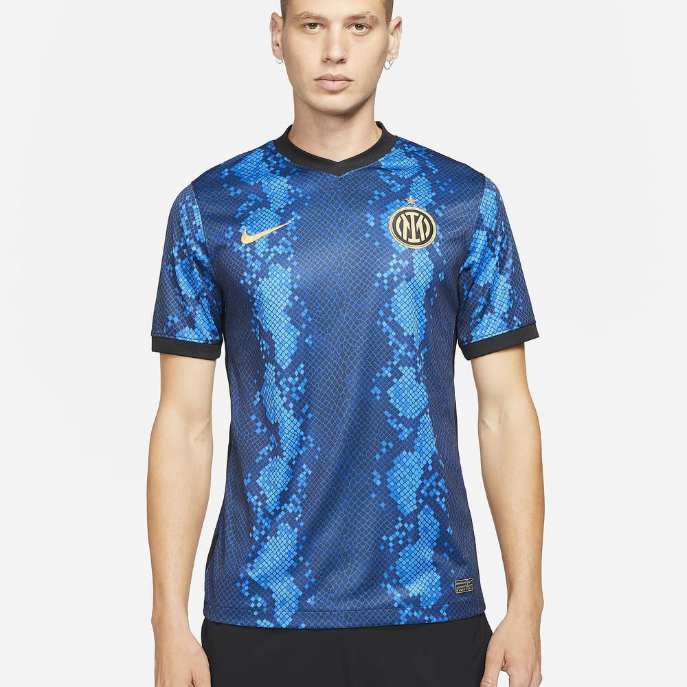 Nike Inter Milan 2021-22 Stadium Home Dri-FIT Football Shirt CV7900-414