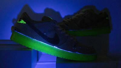 Nike SB Dunk Low Mummy First Look In Dark