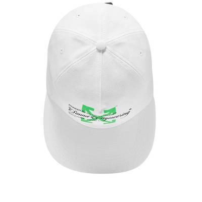 Off-White x Pioneer Baseball Cap White Back