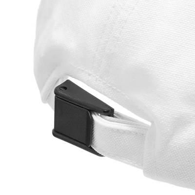 Off-White x Pioneer Baseball Cap White Detail