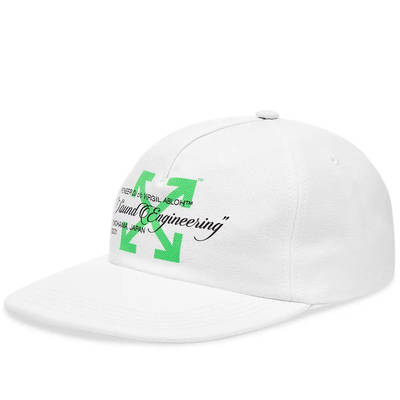 Off-White x Pioneer Baseball Cap White