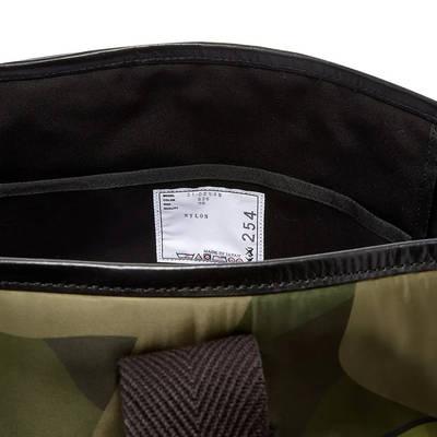 sacai x KAWS Large Tote Bag Camouflage Detail 3