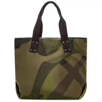 sacai x KAWS Large Tote Bag Camouflage