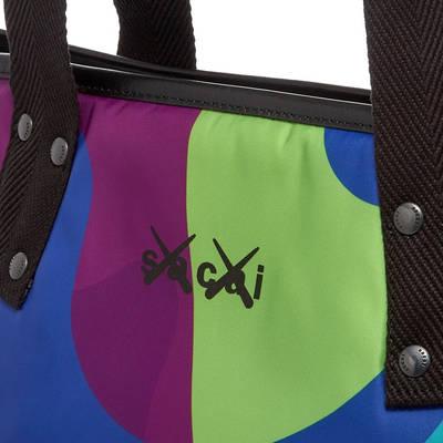 sacai x KAWS Large Tote Bag Multi Detail 2