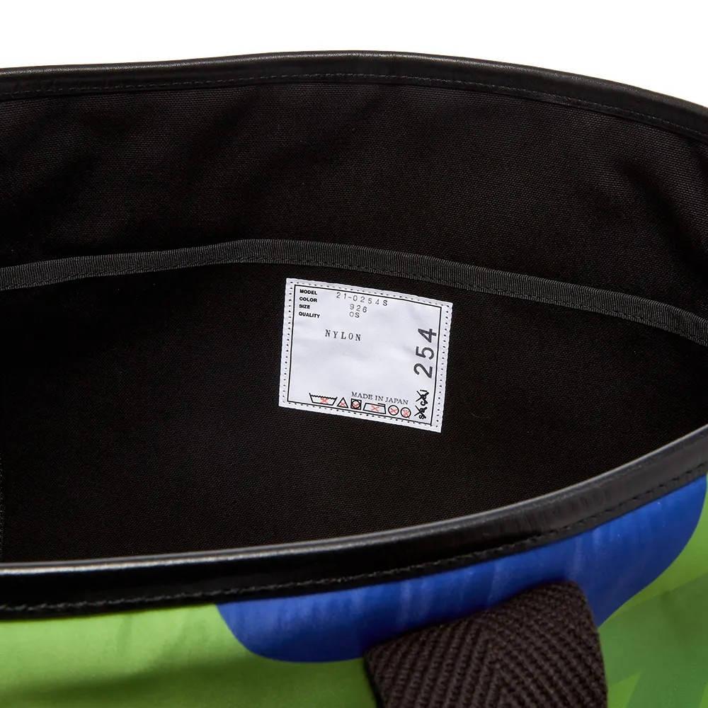 sacai x KAWS Large Tote Bag Multi Detail 3