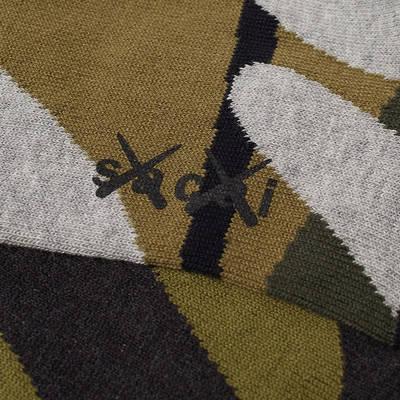 sacai x KAWS Socks Camo Detail