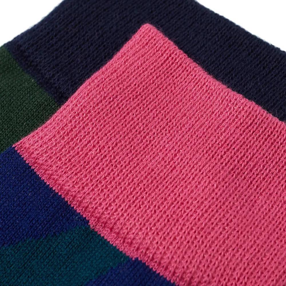 sacai x KAWS Socks Multi Detail 2