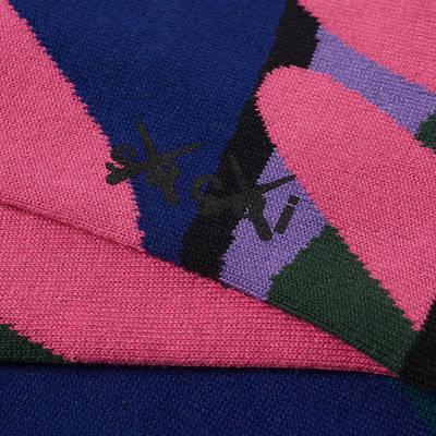sacai x KAWS Socks Multi Detail