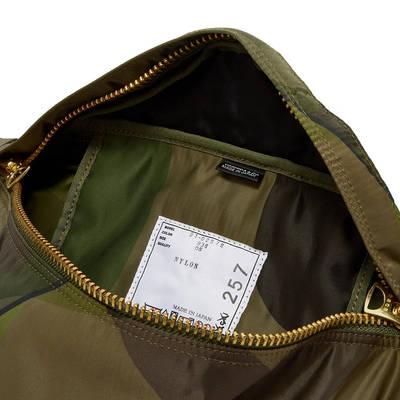 sacai x KAWS Waist Bag Camouflage Detail 3
