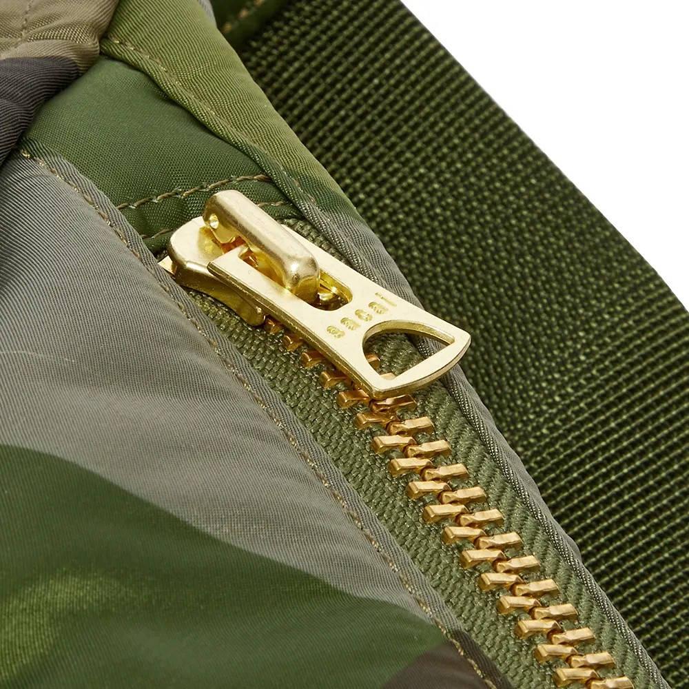 sacai x KAWS Waist Bag Camouflage Detail