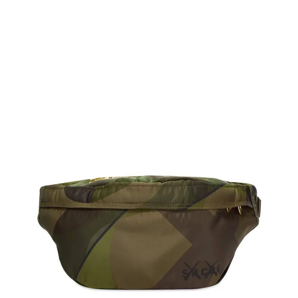 sacai x KAWS Waist Bag Camouflage