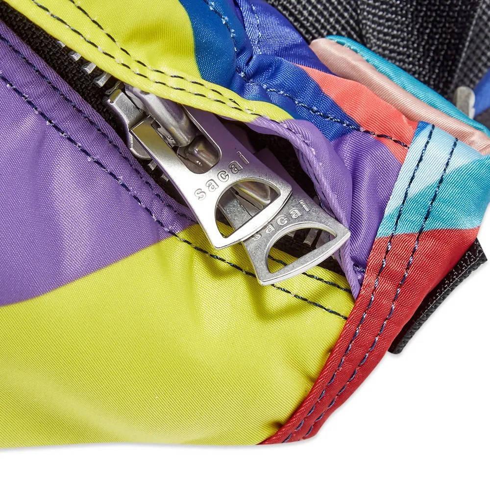 sacai x KAWS Waist Bag Multi Detail 2