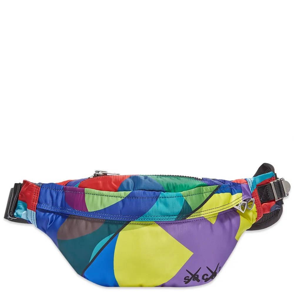 sacai x KAWS Waist Bag Multi