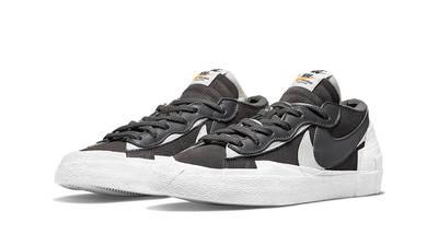 sacai x Nike Blazer Low Iron Grey DD1877-002 front