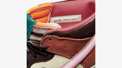 Social Status x Nike Dunk Mid Canvas Burnt Brown Detail 2