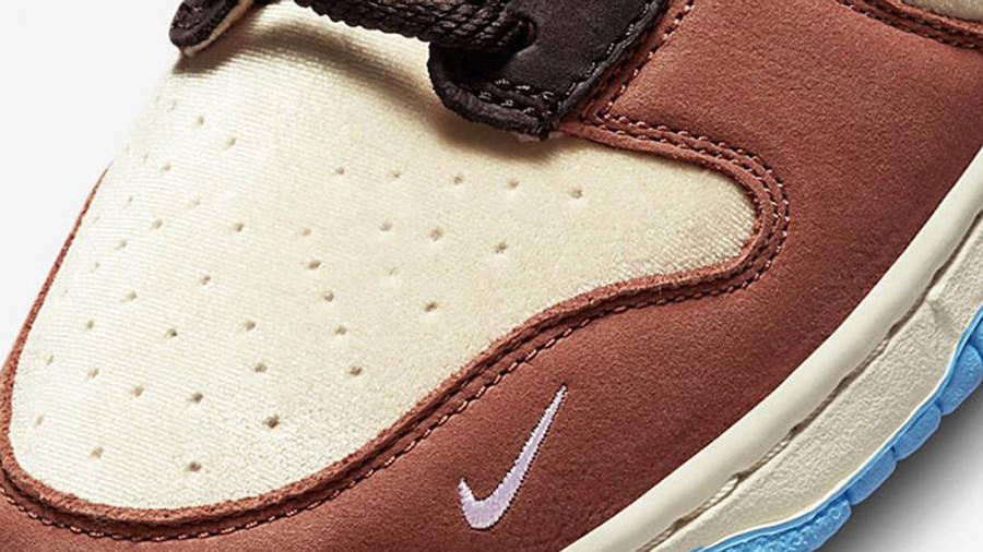 Social Status x Nike Dunk Mid Canvas Burnt Brown Detail 4