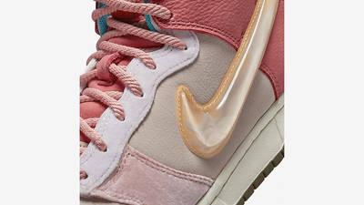 Social Status x Nike Dunk Mid Soft Pink Coconut Milk Detail 2