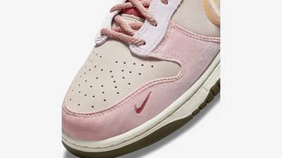 Social Status x Nike Dunk Mid Soft Pink Coconut Milk Detail 5