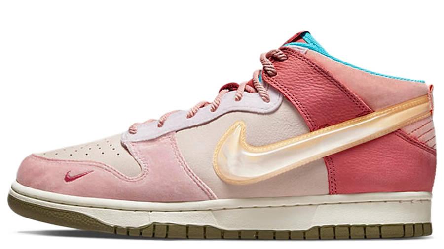 Social Status x Nike Dunk Mid Soft Pink Coconut Milk