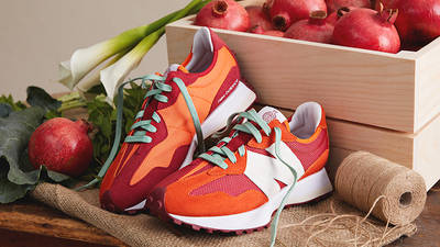 Todd Snyder x New Balance MS327 Farmers Market Pomegranate lifestyle