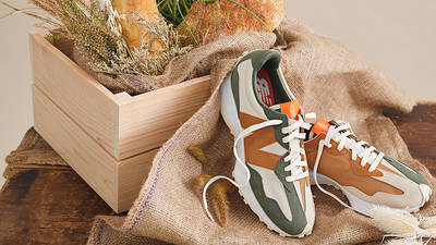 Todd Snyder x New Balance MS327 Farmers Market Wheat lifestyle