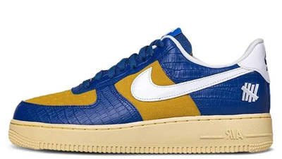 UNDEFEATED x Nike Air Force 1 Low Blue Croc DM8462-400